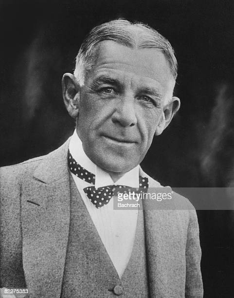 Portrait of American editor and Pulitzer Prizewinning author Edward William Bok early 1900s