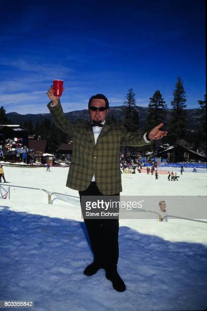 Portrait of American entertainer Ben Carr of the group the Mighty Mighty Bosstones at the LifeBeat Board Aid 2 benefit at Big Bear Lake California...