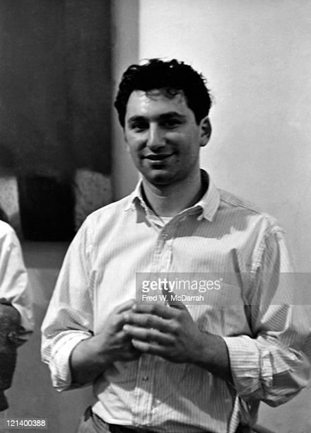Portrait of American experimental filmmaker Ken Jacobs New York New York April 30 1965