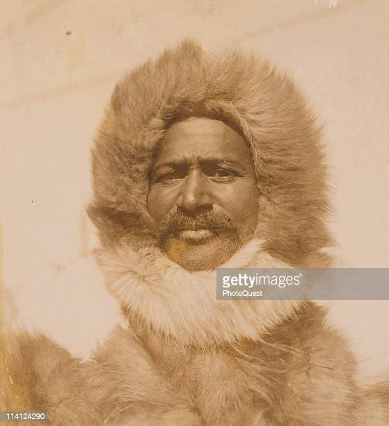 Portrait of American explorer Matthew Henson late 1900s or early 1910s