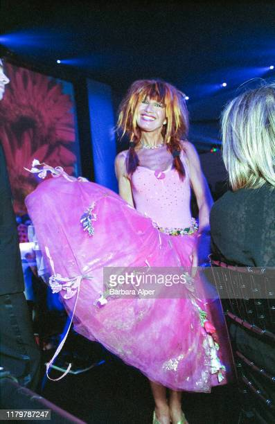 Portrait of American fashion designer Betsey Johnson as she attends the 18th annual CFDA Fashion Awards held at the 69th Regiment Armory New York New...