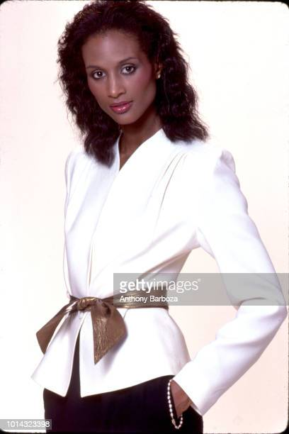 Portrait of American fashion model and actress Beverly Johnson New York 1970s
