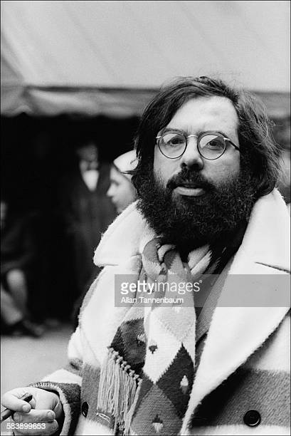 Portrait of American film director Francis Ford Coppola on the East Village set of his film 'The Godfather Part II' New York New York March 10 1974