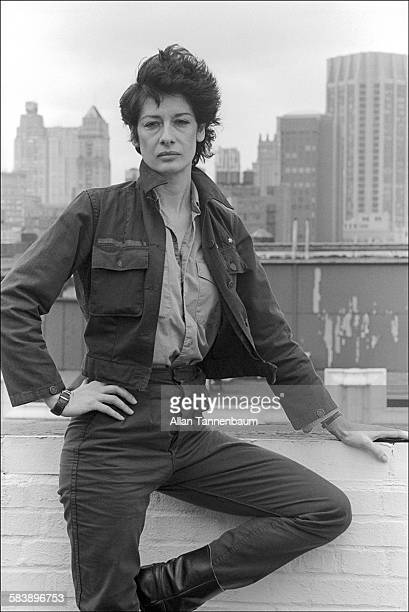 Portrait of American film director Penelope Spheeris New York New York June 26 1981