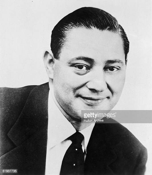 Portrait of American film executive Arnold Picker vice president of United Artists 1960s