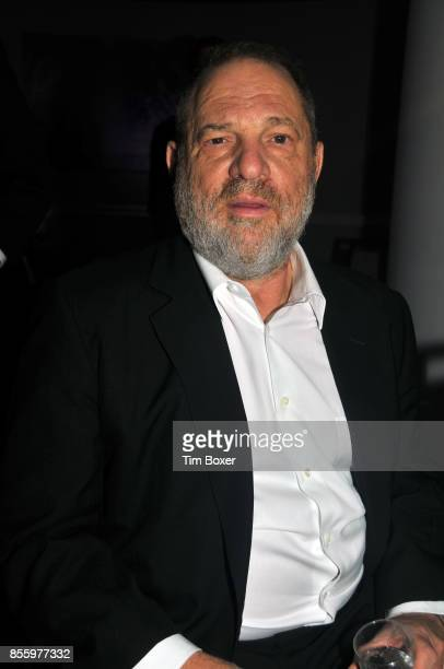Portrait of American film producer Harvey Weinstein as he attends the annual Appeal of Conscience awards dinner at the New York Hilton New York New...