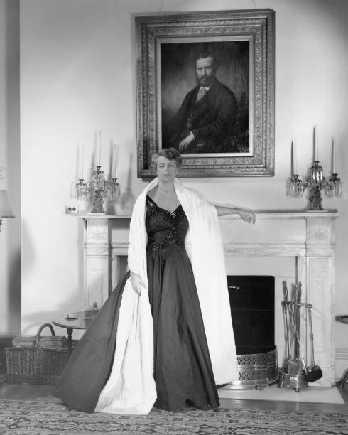 Eleanor Roosevelt In The White House Wall Art