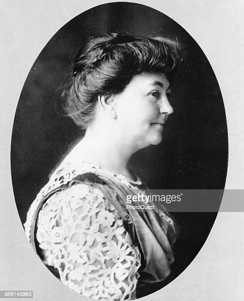 Portrait of American First Lady Ellen Axson Wilson early 20th century