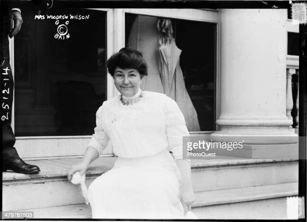 Portrait of American First Lady Ellen Axson Wilson wife of President Woodrow Wilson 1900s or 1910s