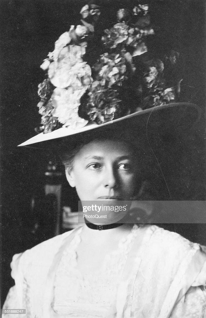 Portrait Of Helen Herron Taft : News Photo