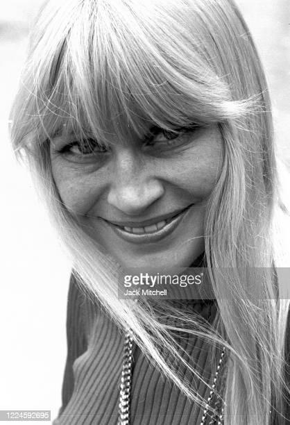 Portrait of American Folk singer Mary Travers June 1973