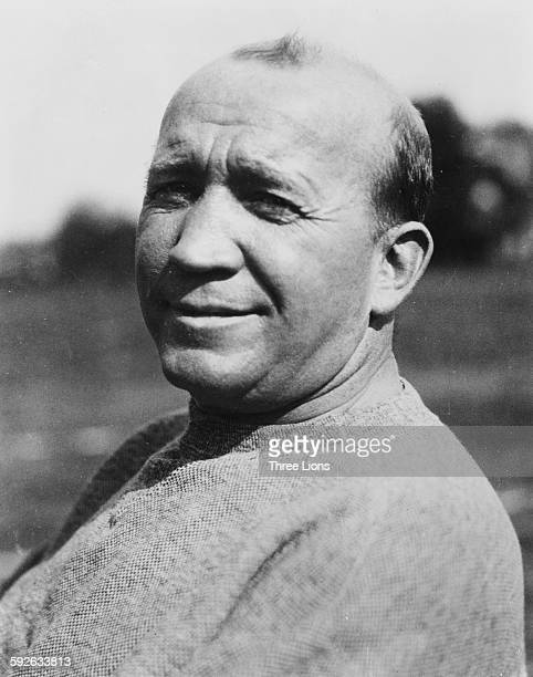 Portrait of American football player Knute Rockne of Notre Dame March 6th 1976