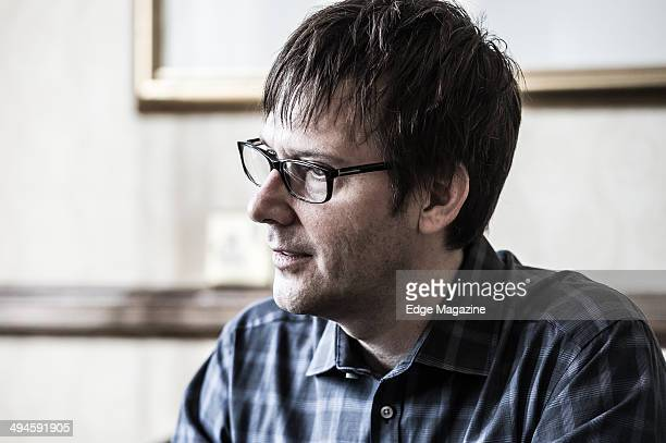 Portrait of American game designer and producer Mark Cerny photographed during an interview at the 2013 Develop Awards in Brighton on July 10 2013...