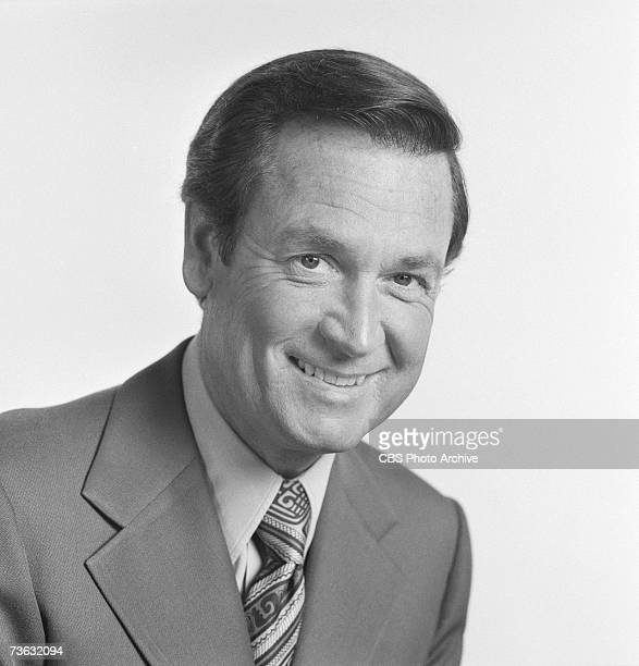 Portrait of American game show host Bob Barker for the CBS game show 'The Price is Right' Los Angeles California August 14 1972