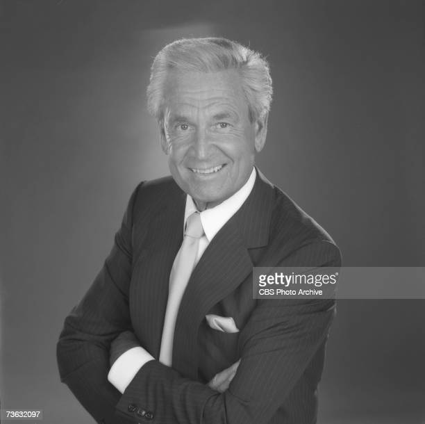 Portrait of American game show host Bob Barker for the CBS game show 'The Price is Right' Los Angeles California September 8 1987