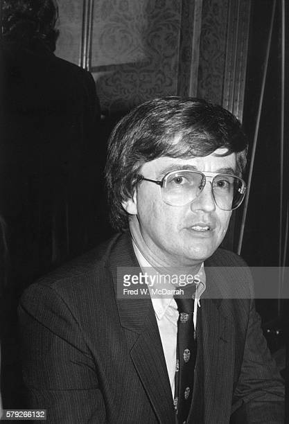 Portrait of American gay rights activist Jim Owles as he attends the first Human Rights Campaign Foundation fundraising dinner at the Waldorf Astoria...