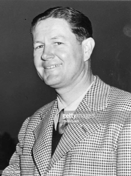Portrait of American golfer Byron Nelson December 1944