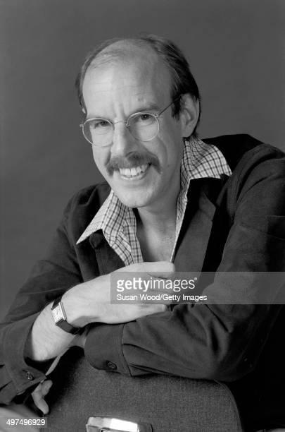 Portrait of American horse racing expert Andrew Beyer, late 1970s.