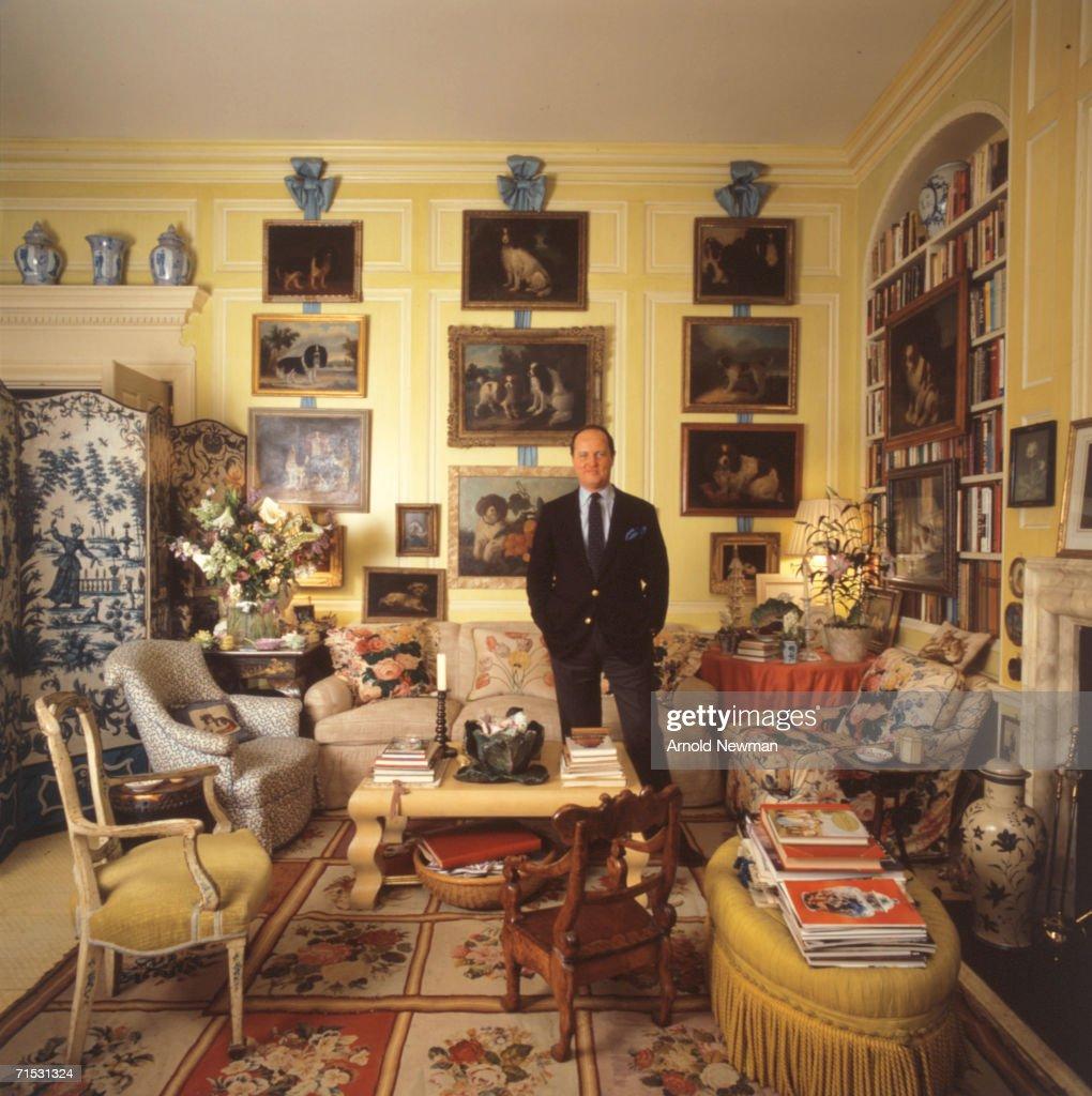 Portrait Of Interior Designer Mario Buatta Pictures Getty Images