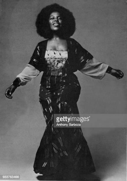 Portrait of American Jazz and Soul musician Roberta Flack New York New York 1971