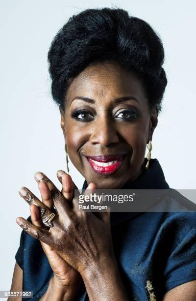 Portrait of American jazz and soul singer Oleta Adams Doetinchem Netherlands 6th December 2017