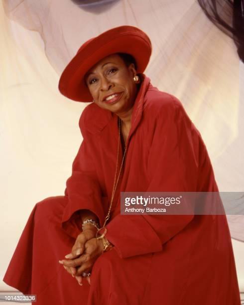 Portrait of American Jazz vocalist Betty Carter late twentieth century