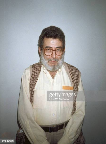 Portrait of American journalist and music critic Nat Hentoff New York New York December 10 1988