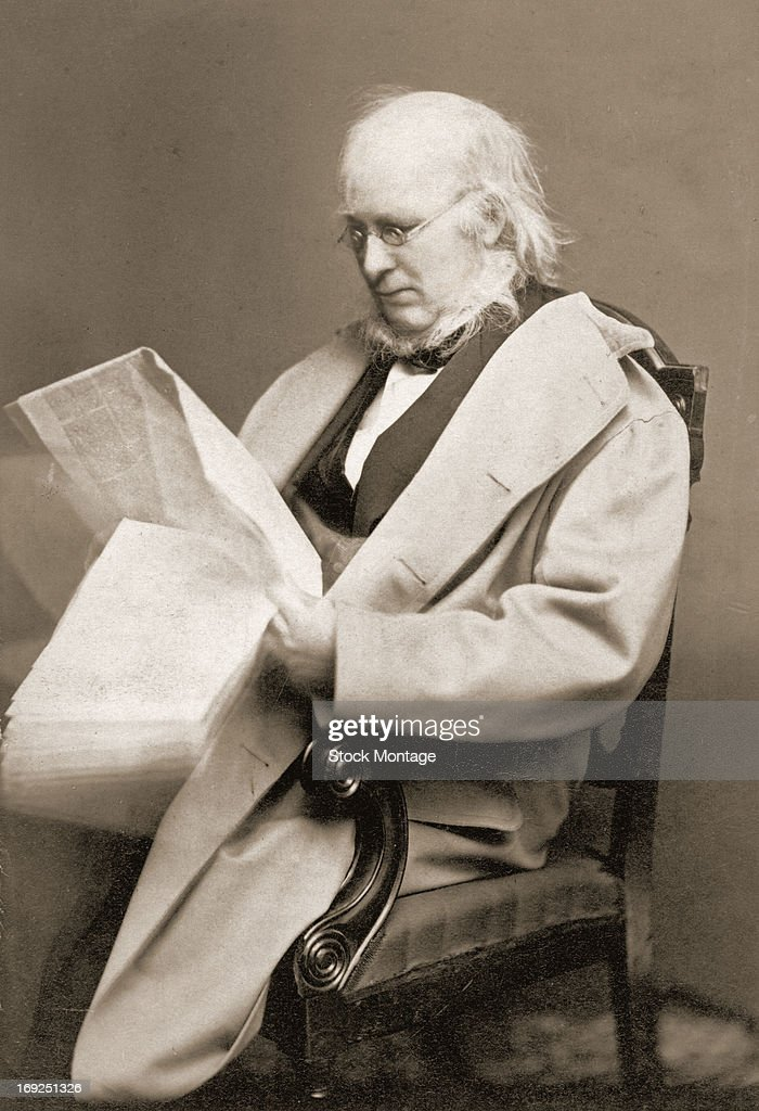 Photograph of Horace Greeley : News Photo
