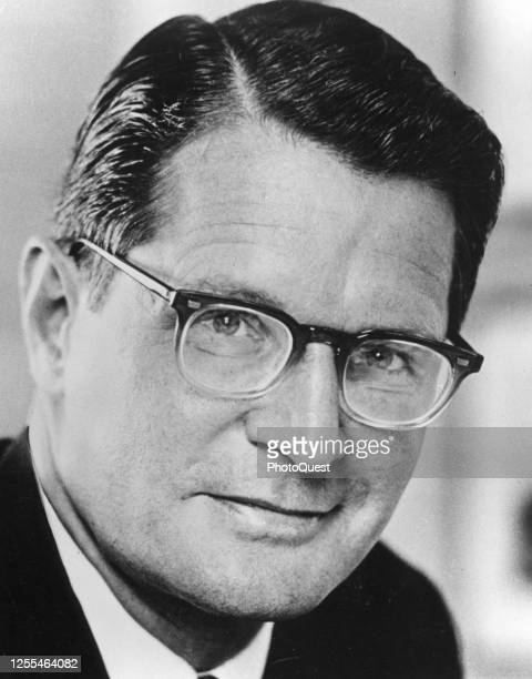 Portrait of American lawyer and Massachusetts State Attorney General Elliot L Richardson , Washington DC, January 1969. On January 23, he was...