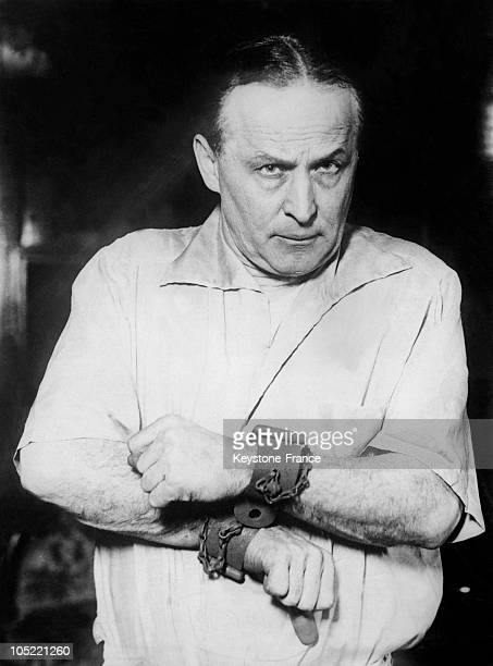 Portrait Of American Magician Harry Houdini Between 1915 And 1926