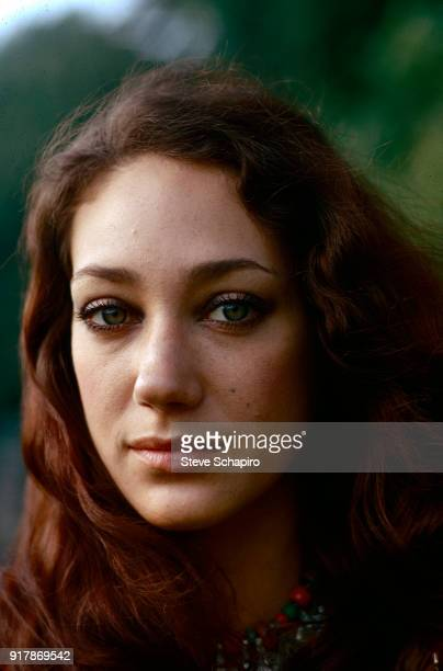 Portrait of American model and actress Marisa Berenson, London, England, August 1973.