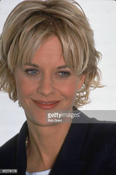 Portrait of American movie actress Meg Ryan March 1996