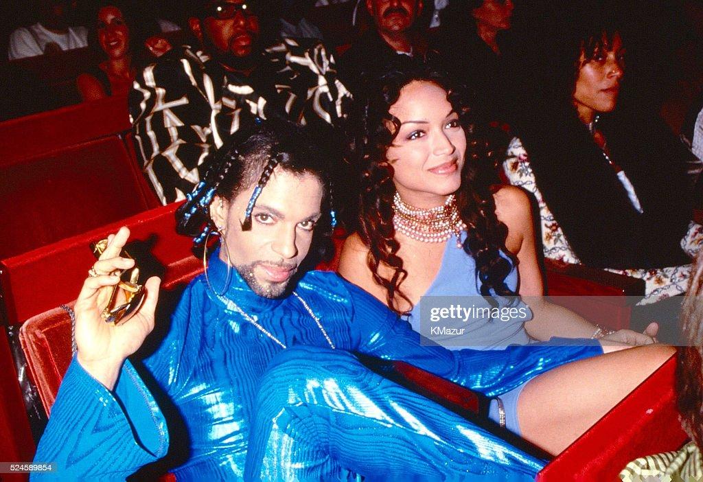 Prince At MTV Video Music Awards : News Photo