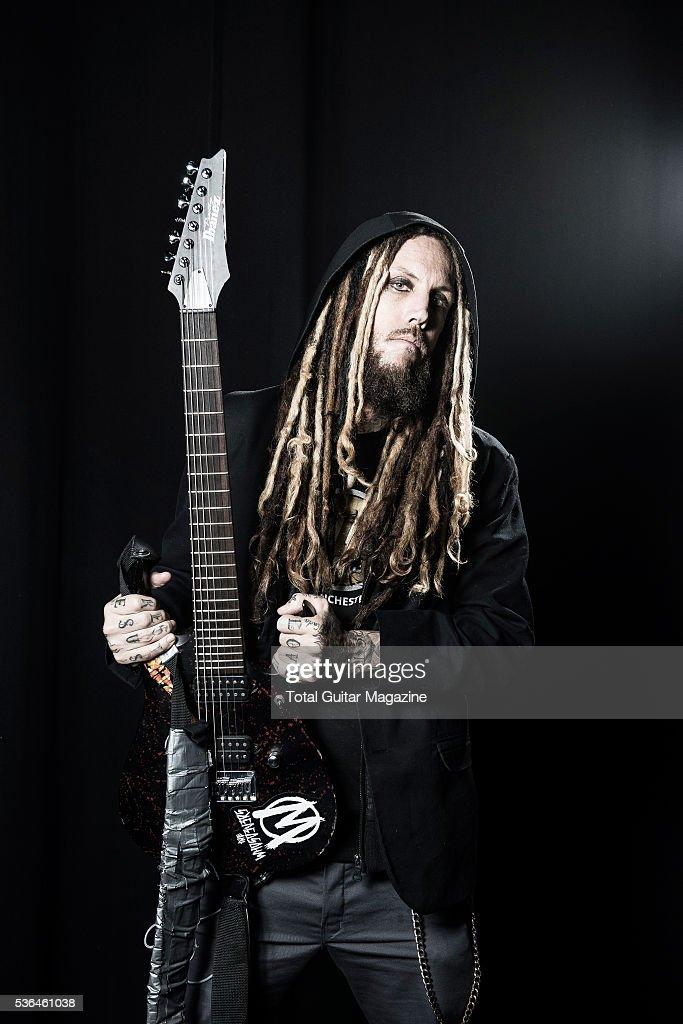 Korn Guitarist Portrait Shoot