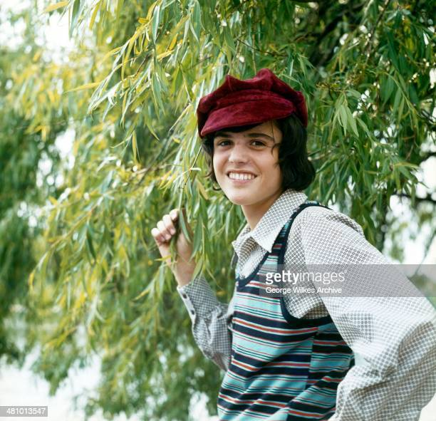 Portrait of American musician Donny Osmond who with his siblings was a part of the pop group The Osmonds London England 1974