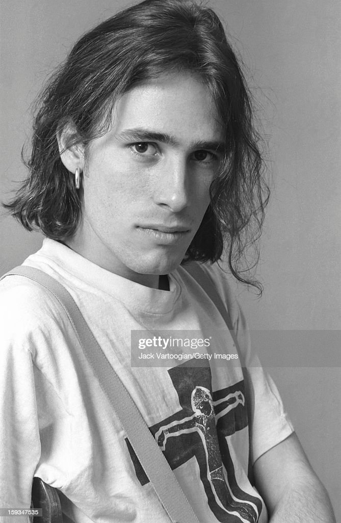 Portrait of American musician Jeff Buckley (1966 - 1997) at Vartoogian Studios, New York, New York, February 6, 1992.