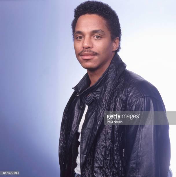 Portrait of American musician Marlon Jackson Chicago Illinois December 11 1987