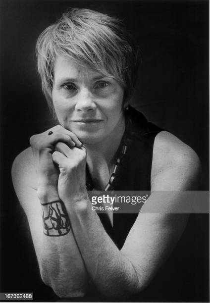 Portrait of American musician Shawn Colvin early 21st century