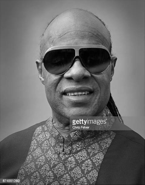 Portrait of American musician singer Stevie Wonder Hollywood California February 2 2015 The photo was taken during an event honoring comedian Dick...