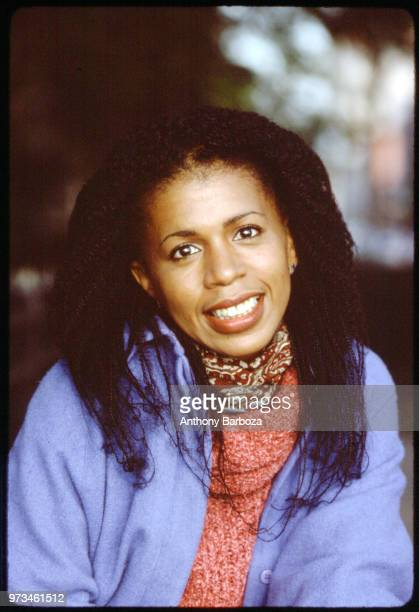 Portrait of American musician Valerie Simpson from the group Ashford and Simpson New York New York 1970s