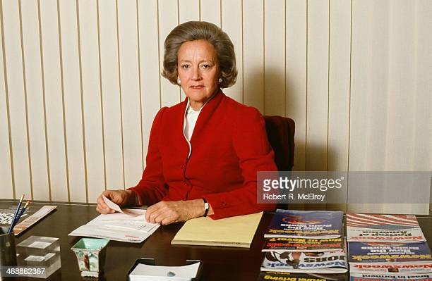 Portrait of American newspaper publisher Katharine Graham of the Washington Post June 6 1980