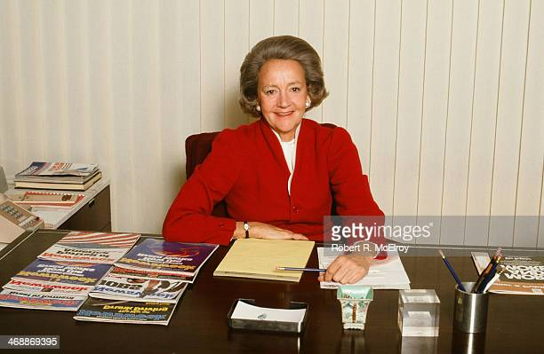 Portrait of American newspaper publisher Katharine Graham of the Washington Post June 6 1980