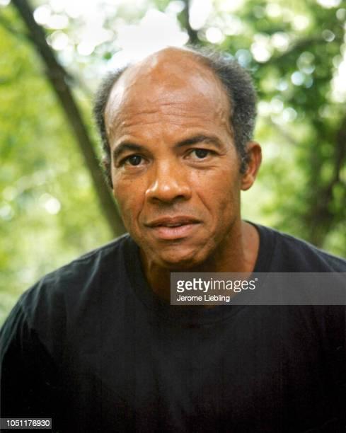 Portrait of American novelist professor John Edgar Wideman Amherst Massachusetts 1999