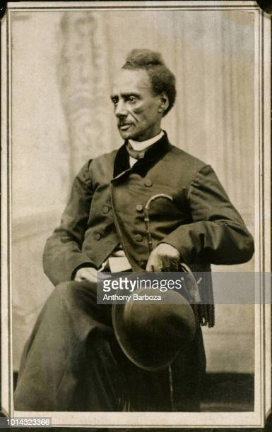 Portrait of American orator and abolitionist Charles Lenox Remond 1850s