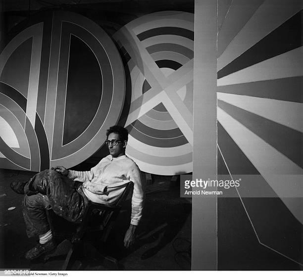 Portrait of American painter Frank Stella New York New York April 19 1967