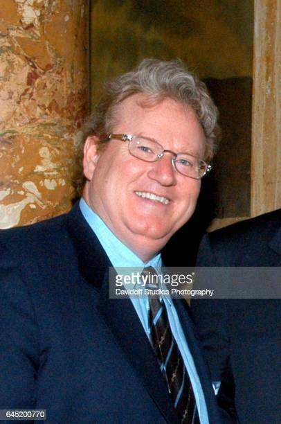 Portrait of American philanthropist Patrick Park as he attends a Thanksgiving event at the MaraLago club Palm Beach Florida 2008