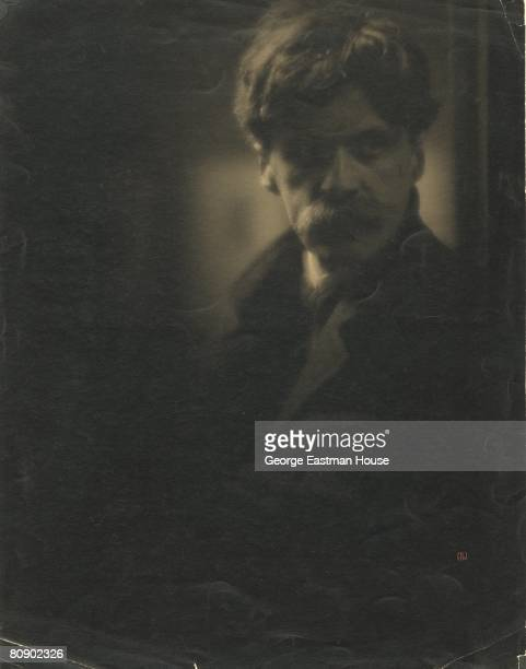 Portrait of American photographer Alfred Stieglitz