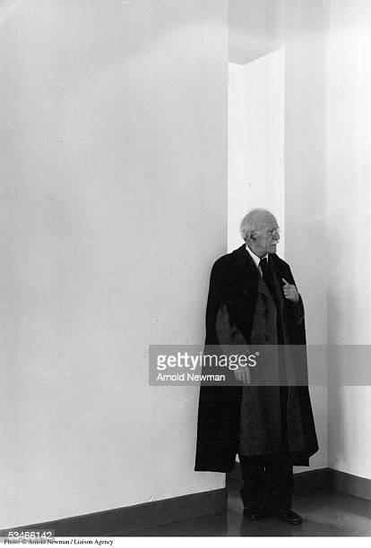 Portrait of American photographer Alfred Stieglitz April 5 1944 in New York City Stieglitz is best known for founding the magazine 'Camera Work' and...