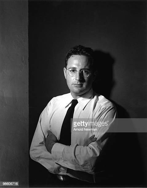 Portrait of American photographer Arnold Newman Miami Beach Florida April 2 1943
