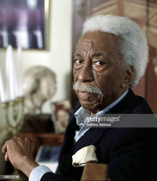Portrait of American photographer Gordon Parks 2005